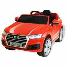 vidaXL Elektrische Auto Audi Q7 Rood Loopauto Kinderspeelgoed Kinderauto Kind