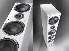 Magnat Shadow 209 Floorstanding Speakers (Piano White) NEW Audiphile Stereo Hifi