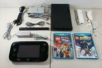 Nintendo Wii U 32GB Console Ultimate Bundle - Gamepad, Remote+Nunchuk & 2 Games