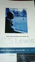 The Collections Of C S Lewis Volumn 2 paperback books, broadcasts and the war
