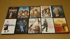 Lot 10 Robin Williams Dvd Birdcage, Patch Adams, What Dreams May Come, Cadillac
