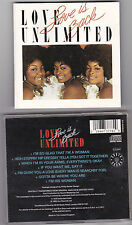 Love Unlimited  Love Is Back CD
