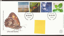 GB FDC 2000 Life and Earth