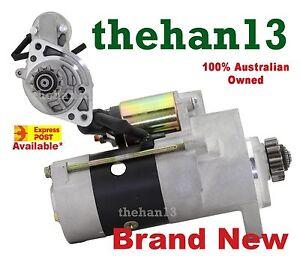 Starter Motor for Nissan Navara D22 &  D40 Turbo Diesel 2.5L YD25DDTi  05-14