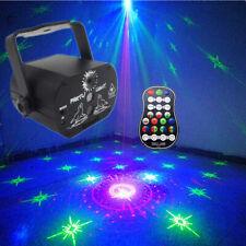60 Pattern Laser Projector Stage Light LED RGB Xmas Party KTV DJ Disco Lights UK