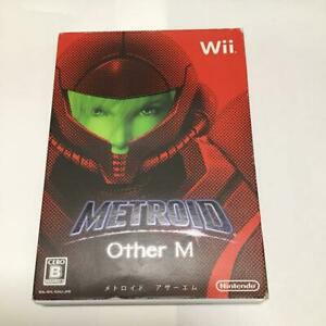 Nintendo Wii METROID Other M Tested Working Japanese ver