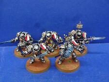 5 Grey Knight Terminator de la grey Knights bien pintado 1