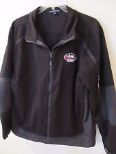 Vintage Mens Black Coors Indianapolis 2012 Soft Shell Jacket Coat Size XL
