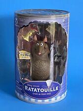 Emile RATATOUILLE Talking Action Figure Pixar Movie Disney Store Toy NRFB NEW