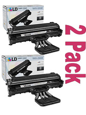 2 PK LD Toner Samsung ML-2010D3 Black ML-2010 ML-2510 ML-2570  ML-2571N