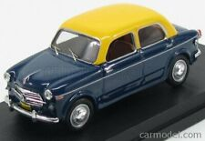 Rio-models 4496 scala 1/43 fiat 1100tv taxi mumbai india 1956 blue yellow