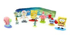 8 Spongebob Figuren von PREZIOSI COLLECTION 2009 Plus allen Beipackzetteln