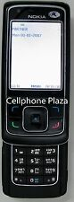 Nokia 6288 RM-78 - Black Unlocked Used w/USB charging cable