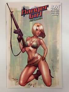 IDW DANGER GIRL : REVOLVER #1 NEWCOMIX RE A COVER : NM CONDITION