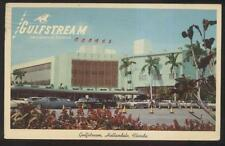 Postcard Hallandale Florida/Fl Gulfstream Horse Race Track view 1950's