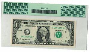 1995 $1 DOLLAR ERROR FR.19221-F FEDERAL RESERVE NOTE