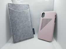 Case Station UK iPhone X Girls & Womens Protective Pink Abstract Case RRP £35