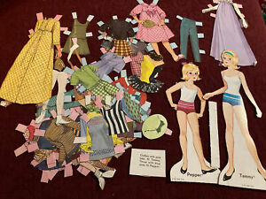 Vintage 1966 TAMMY PEPPER PAPER DOLLS