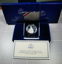 2004 Thomas Edison US Proof Commemorative Silver $1 Dollar with Box and COA