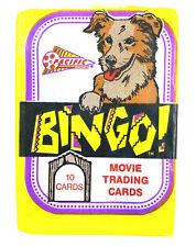Booster TCG JCC de cartes Bingo the dog movie cards - Paquet 10 cartes Neuf 1991