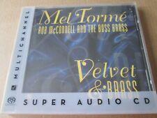 Mel Tormé, Rob McConnell And The Boss Brass – Velvet & Brass [SACD] NEW SEALED
