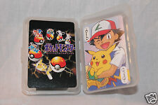 NEW IN BOX POKEMON MONSTERS PLAYING CARDS DECK BLACK
