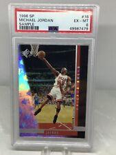 1996 SP Sample #16 Michael Jordan PSA 6