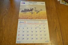 Vtg REMINGTON Advertising 1976 Calendar-Tom Beecham-Graham&McGuire-Winona,MN