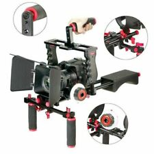 YaeCcc Red Film Movie Kit System Support Rig Video Cage other Dslr Cameras New
