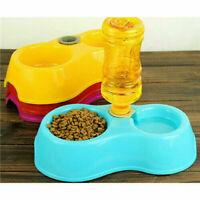 HOT Pet Dog Cat Puppy Water Feeder Water Drinking Dispenser Food Dish Bowl