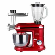 Robot patissier hachoir blender multifonction 1500W bol 5.5L DALLAS PRO Rouge ac