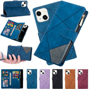 Case For iPhone 13 12 Pro Max 11 XS XR X 8 7 Flip Leather Wallet Card Slot Cover