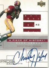 Charley Taylor Redskins UD Pros & Prospects Jersey/ Auto #CT-AJ