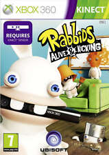 Rabbids Alive & Kicking ~ XBox 360 Kinect Game (in Great Condition)