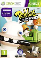 Rabbids Alive & Kicking ~ Xbox 360 Kinect Juego (en Perfectas Condiciones)