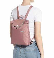 Authentic Longchamp Le Pliage Club Backpack Antique Pink