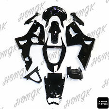 Black Fairing For Kawasaki Ninja ZX6R ZX-6R ZX 6R 636 2003 2004 Injection ABS