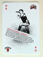 Shirley Manson Garbage Jim Beam Music Idol Collectors Playing Card 9D