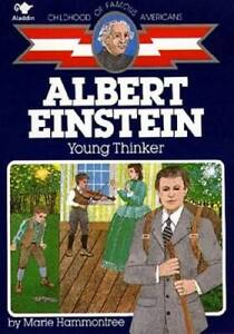 Albert Einstein: Young Thinker (Childhood of Famous Americans) - GOOD