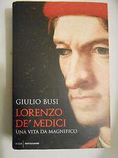 Lorenzo De Medici (Giulio Busi) Mondadori  BF/2