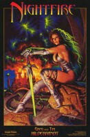 POSTER: FANTASY : NIGHTFIRE  by BROS. HILDEBRANDT - FREE SHIP ! #585 RP56 F