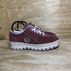 Skechers Platform (7833) Shoes, Women's Size 9, Wine