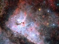 SPACE STARS GALAXY NEBULA UNIVERSE HUBBLE POSTER ART PRINT LV11117