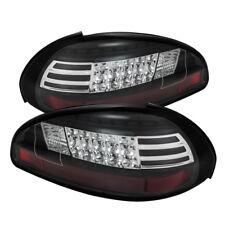 Pontiac 97-03 Grand Prix Black LED Rear Tail Lights Brake Lamp Set GTP/GT/SE