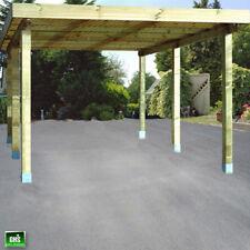 Carport 4x5 m, Holz-Bausatz 11/11 cm Stützen, Schneelast bis 200 Kg/qm möglich