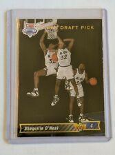 New listing Shaquille O'Neal 1993 Upper Deck Orlando Magic #1 NBA DRAFT PICK RC (LN)
