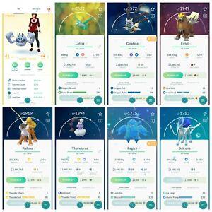 Pokémon Account Go Level 41 | 174 Shiny | 162 Legendary | 25, 4*(RARE)