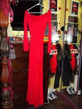 Horn Head Band Child Girl 6-8 S 10-12 L 8-10 M 2pc Devil Costume Red Dress