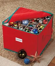 75 Ornament Organizer Storage Box Bin Christmas Tree Bulb Holiday Large Big