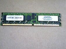 ATP 1GB DDR2 PC3200 DIMM 240 PIN ECC REG AH28K72M4BHC4S Server Memory
